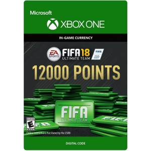 FIFA 18 Ultimate Team 12000 FIFA Points Digital (Código) / Xbox One